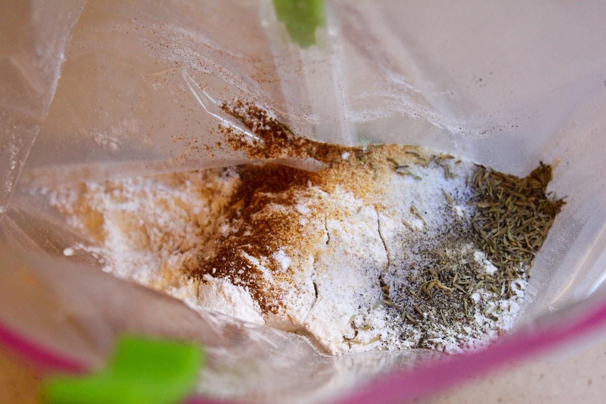 seasonings for chicken in bag