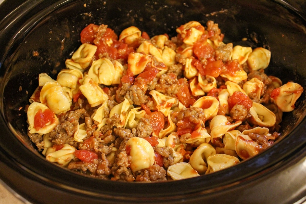 all ingredients in slow cooker uncooked
