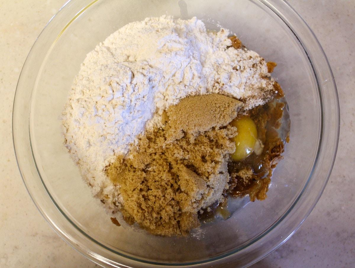 muffin ingredeints