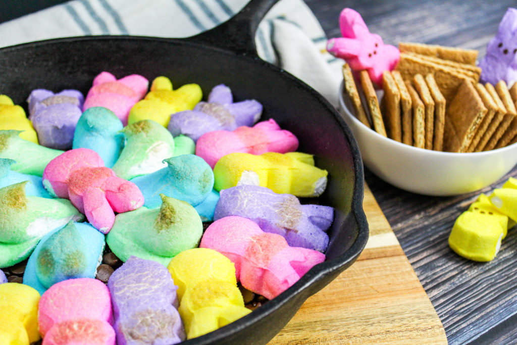 PEEPS over chocolate chips