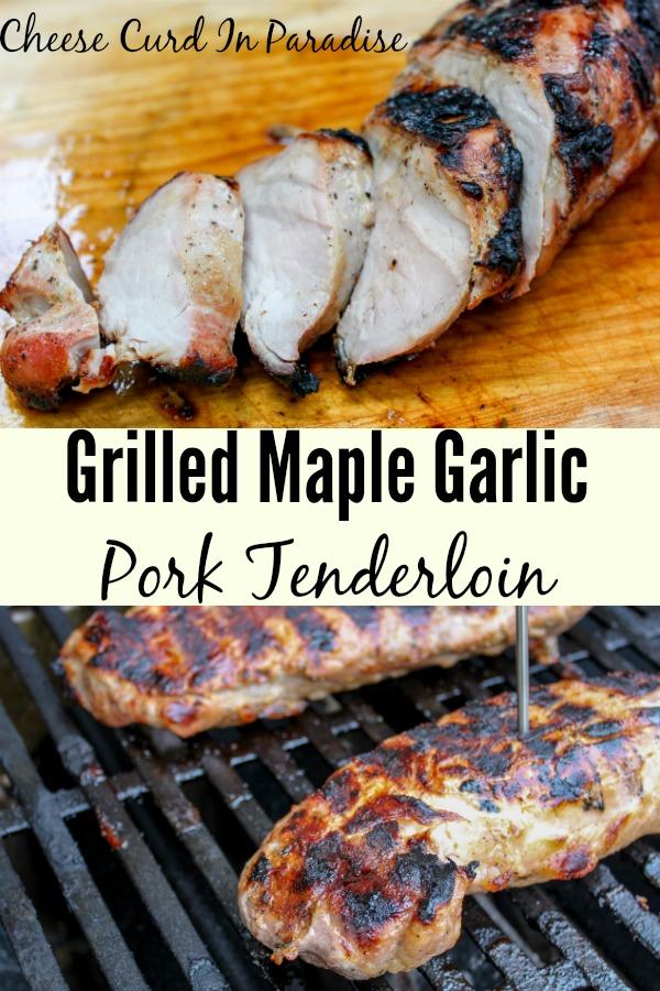 grilled pork tenderloin Pin