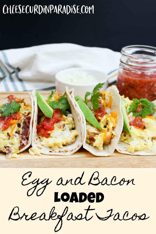 tacos on a platter