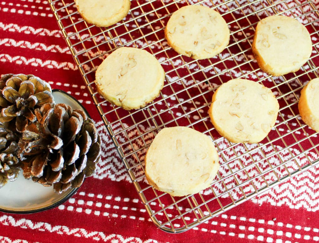 cookies on a cooling rack