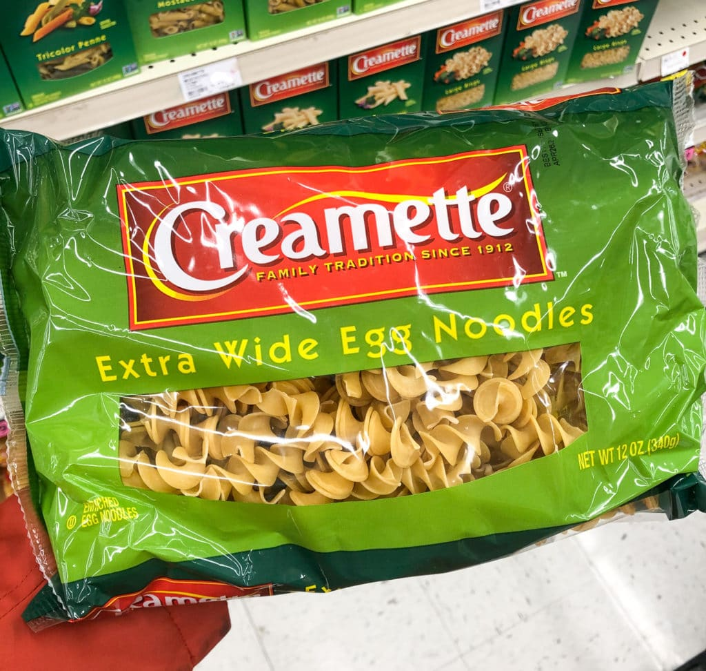 Bag of pasta