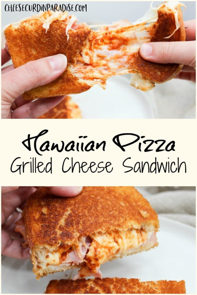 pinterest pin of sandwich