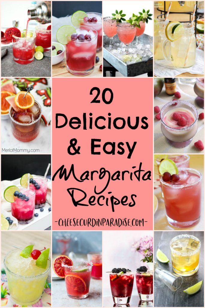 collage of margaritas