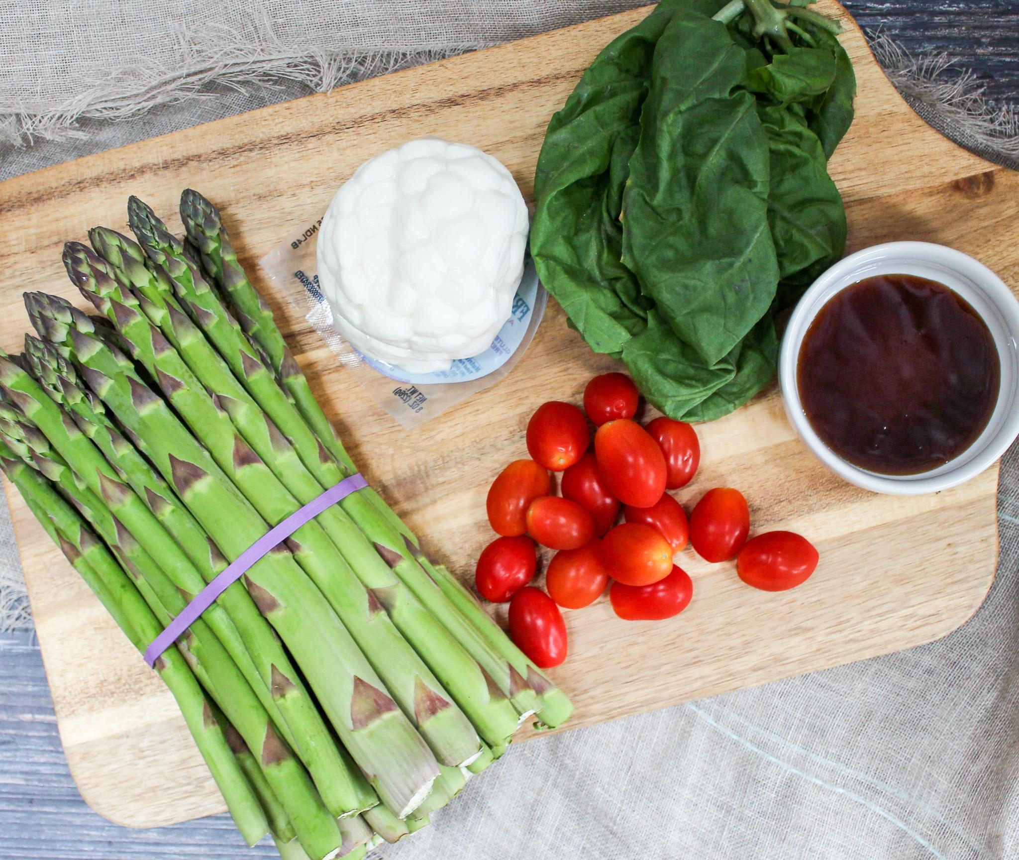 asparagus caprese ingredients