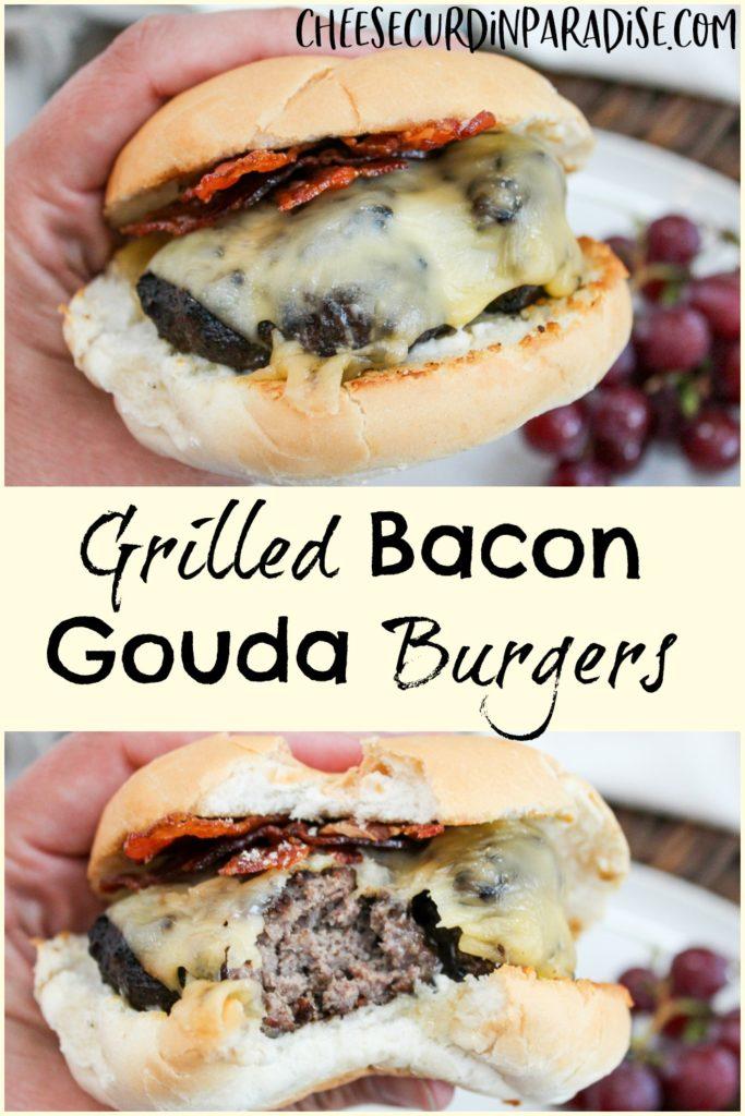 burger held in hand
