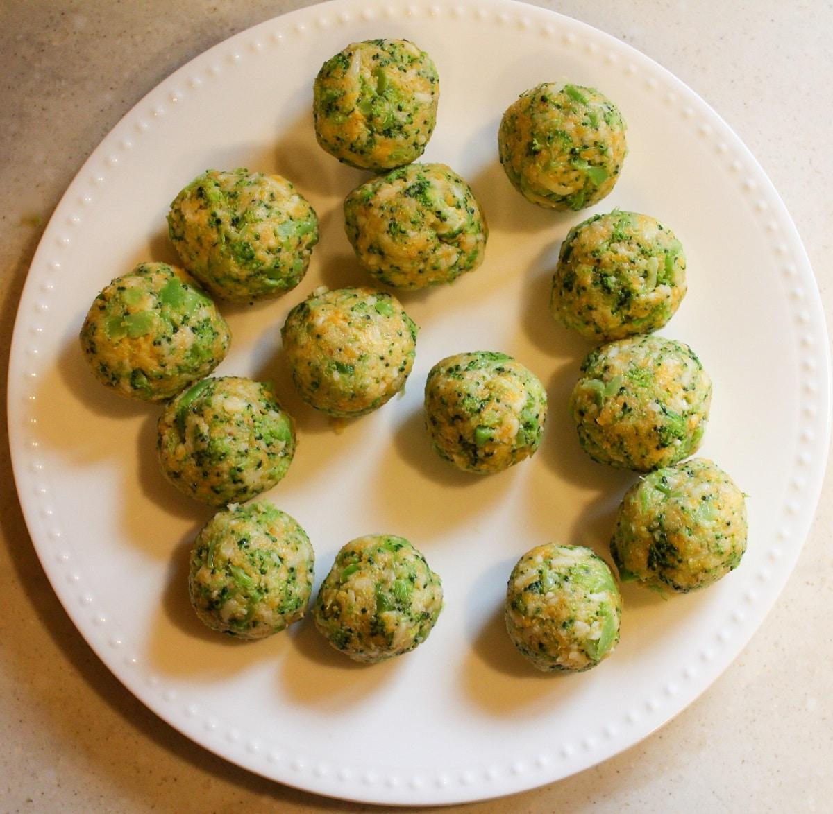 unbreaded broccoli cheddar bites