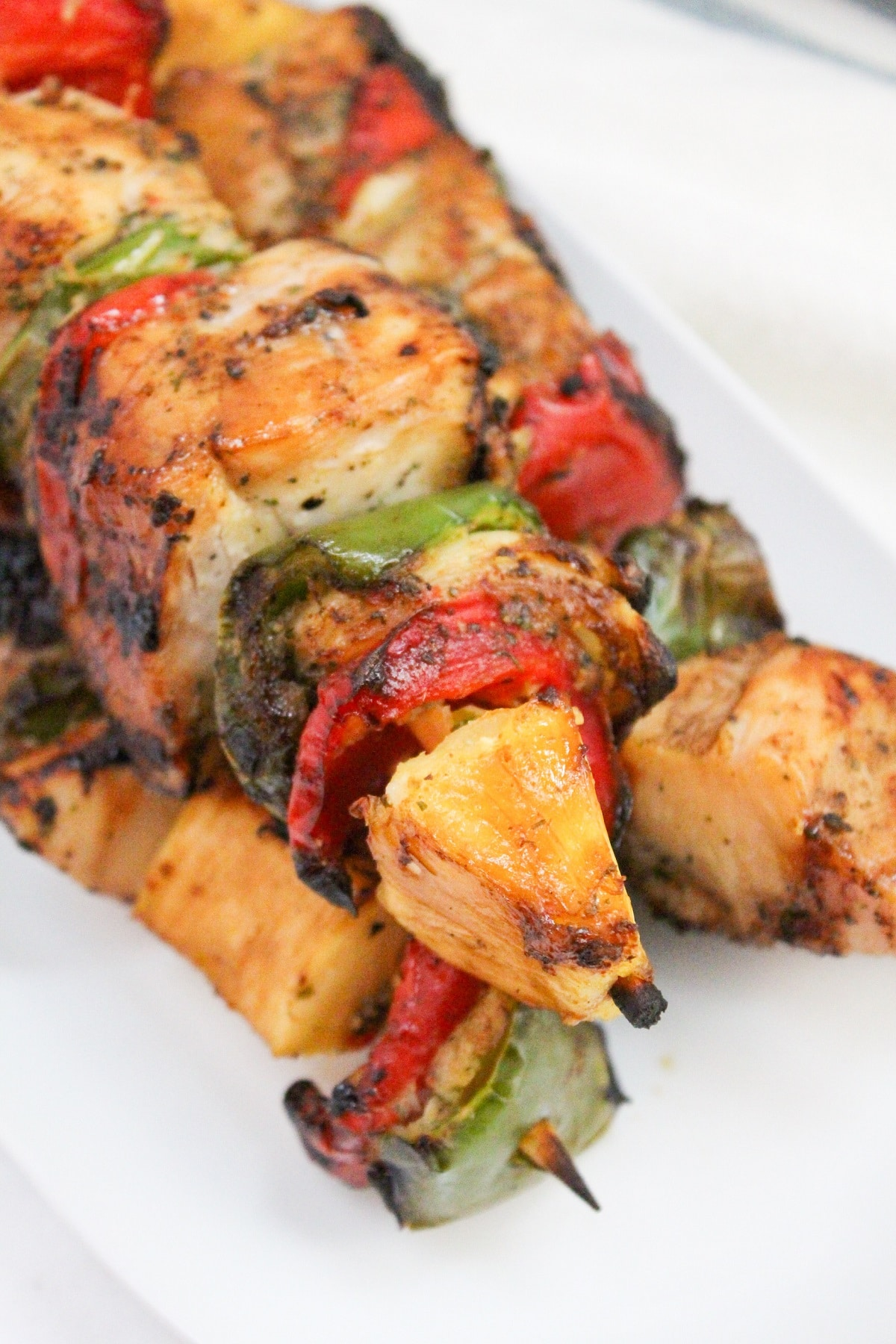 chicken kabobs with pineapple