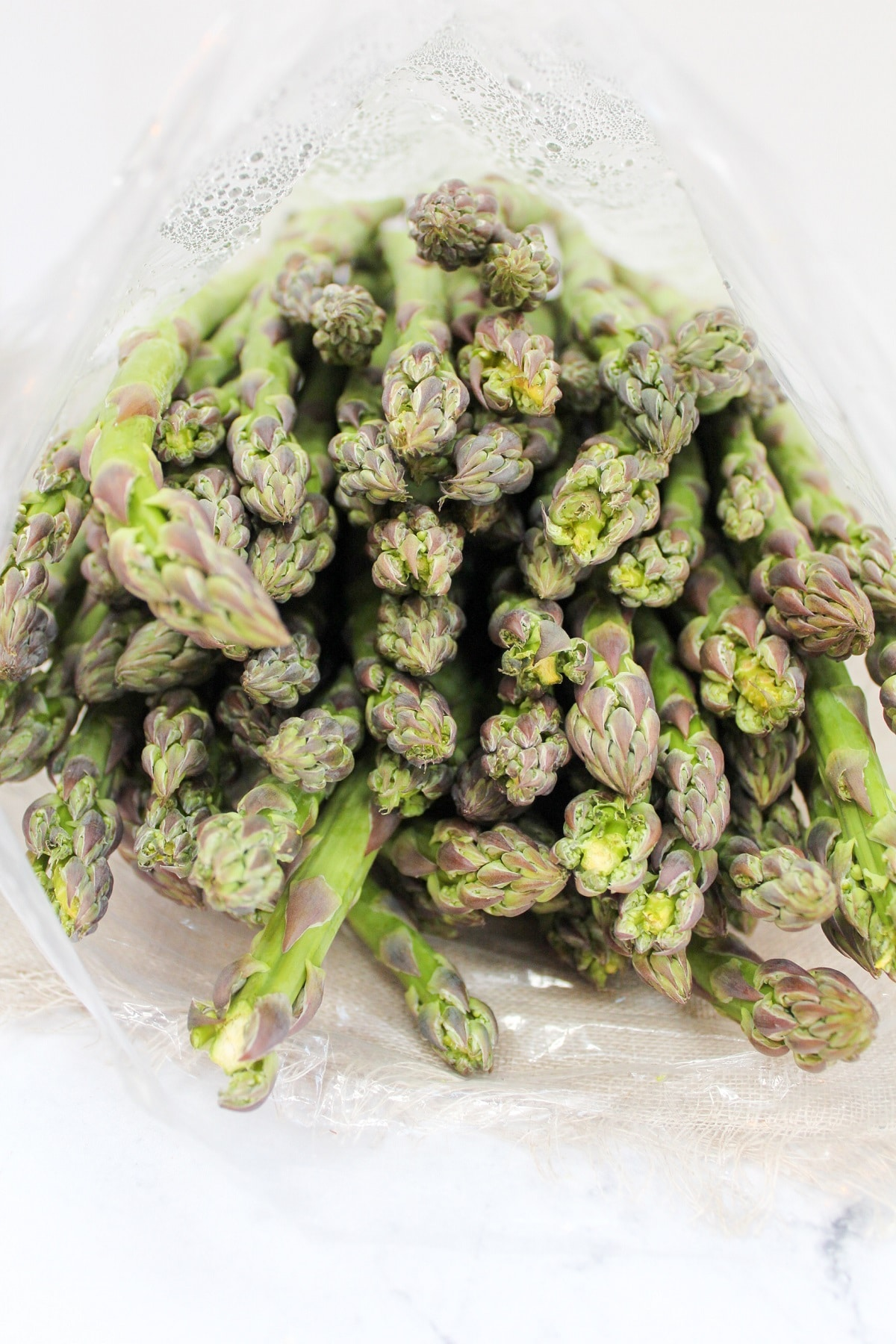 uncooked asparagus