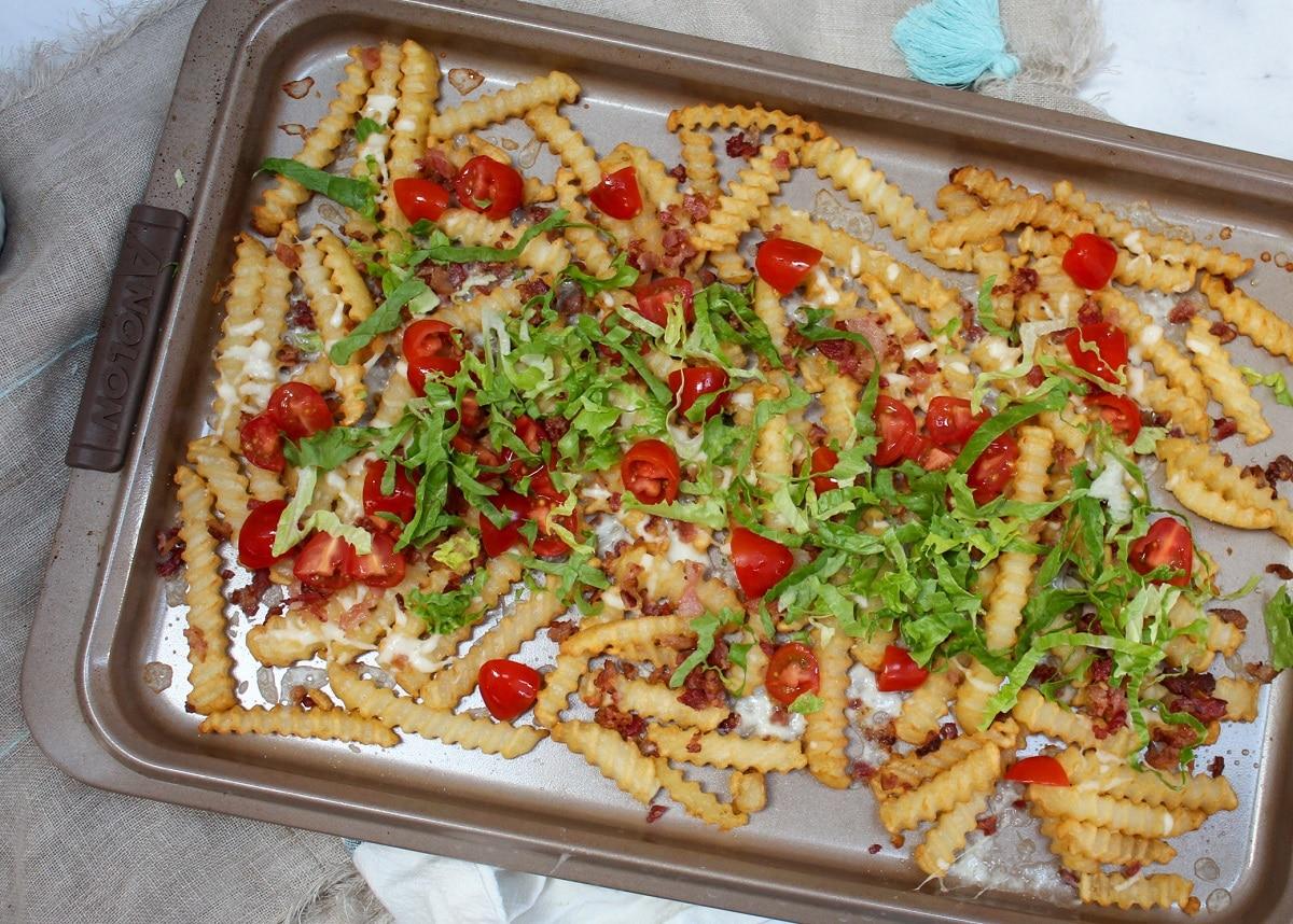 prep photo of blt fries